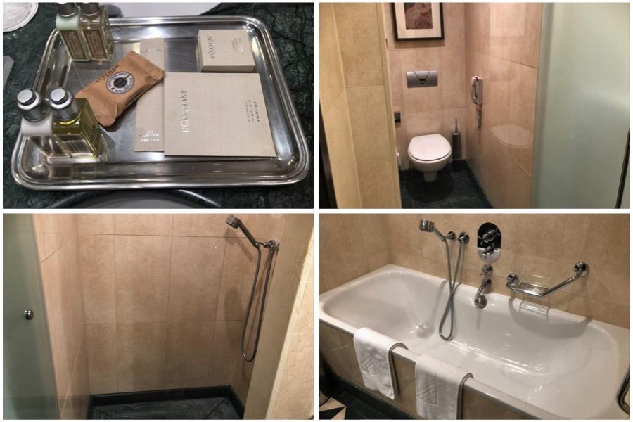 ホテル エスプレナーデのバスルーム