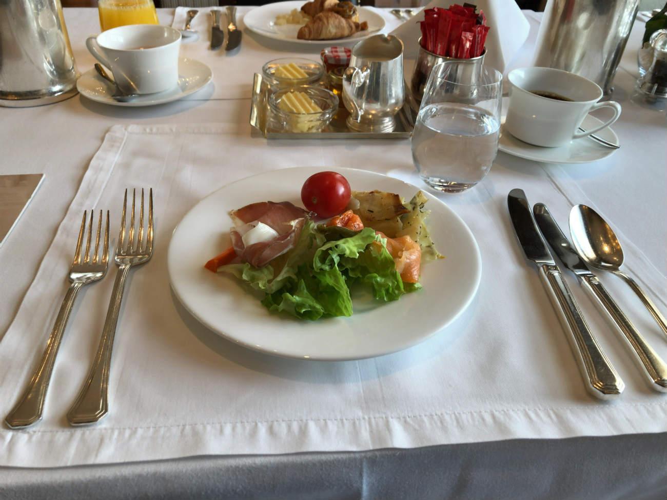 ホテル エスプレナーデの朝食