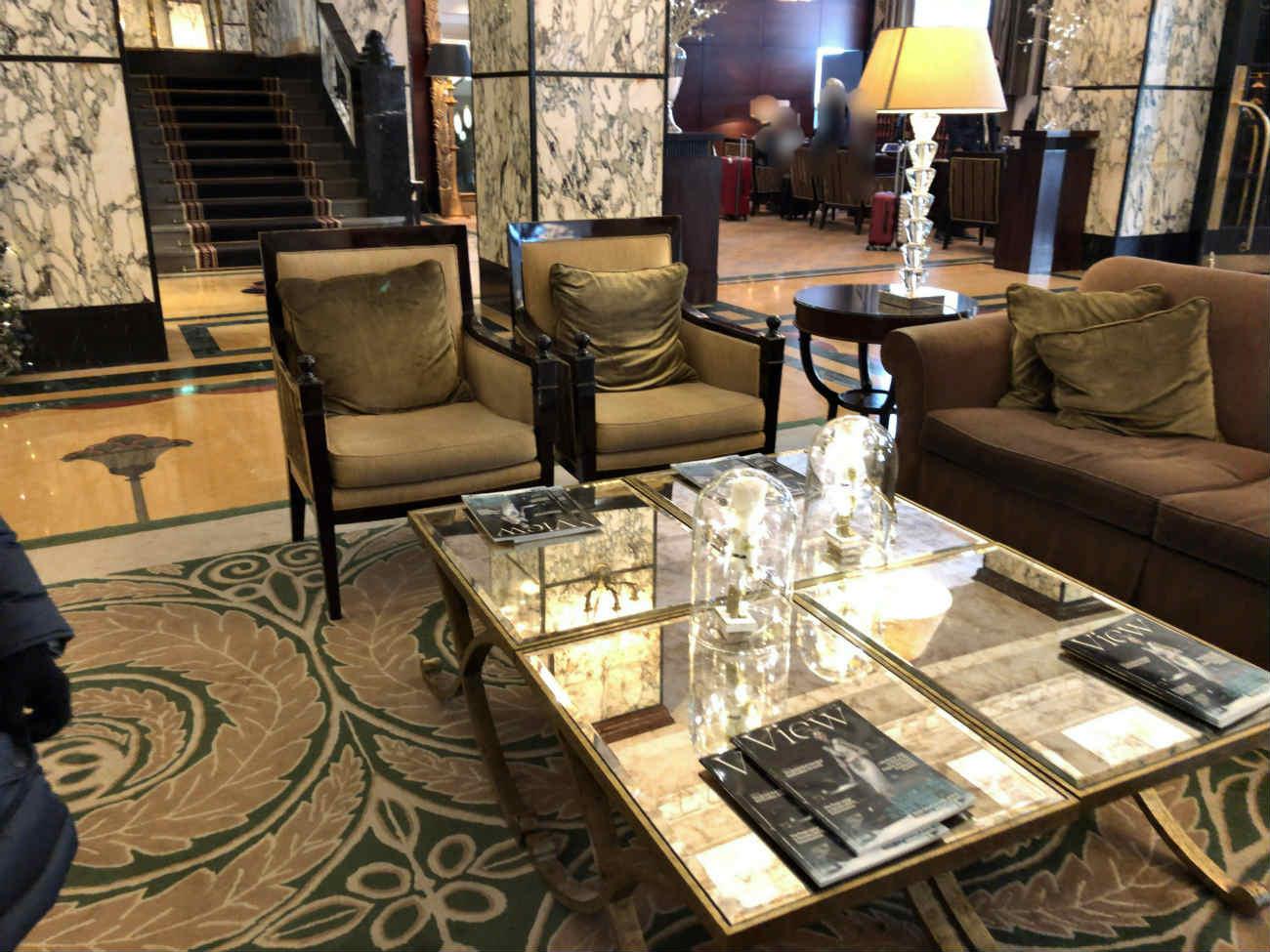エスプラネードホテルのロビー