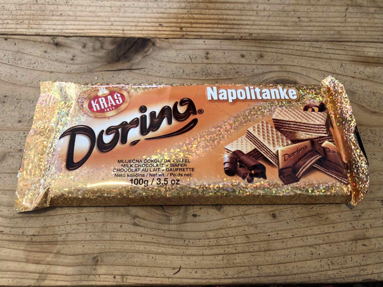 クロアチアで買ったチョコレート