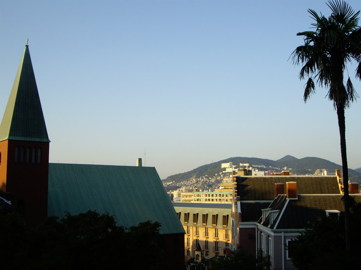 大浦天主堂から見える景色