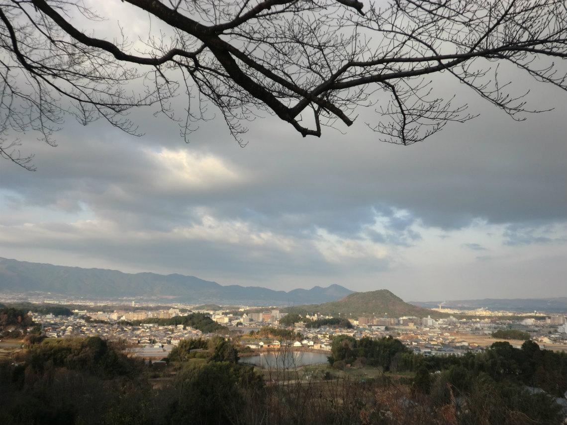 甘樫丘から見える景色