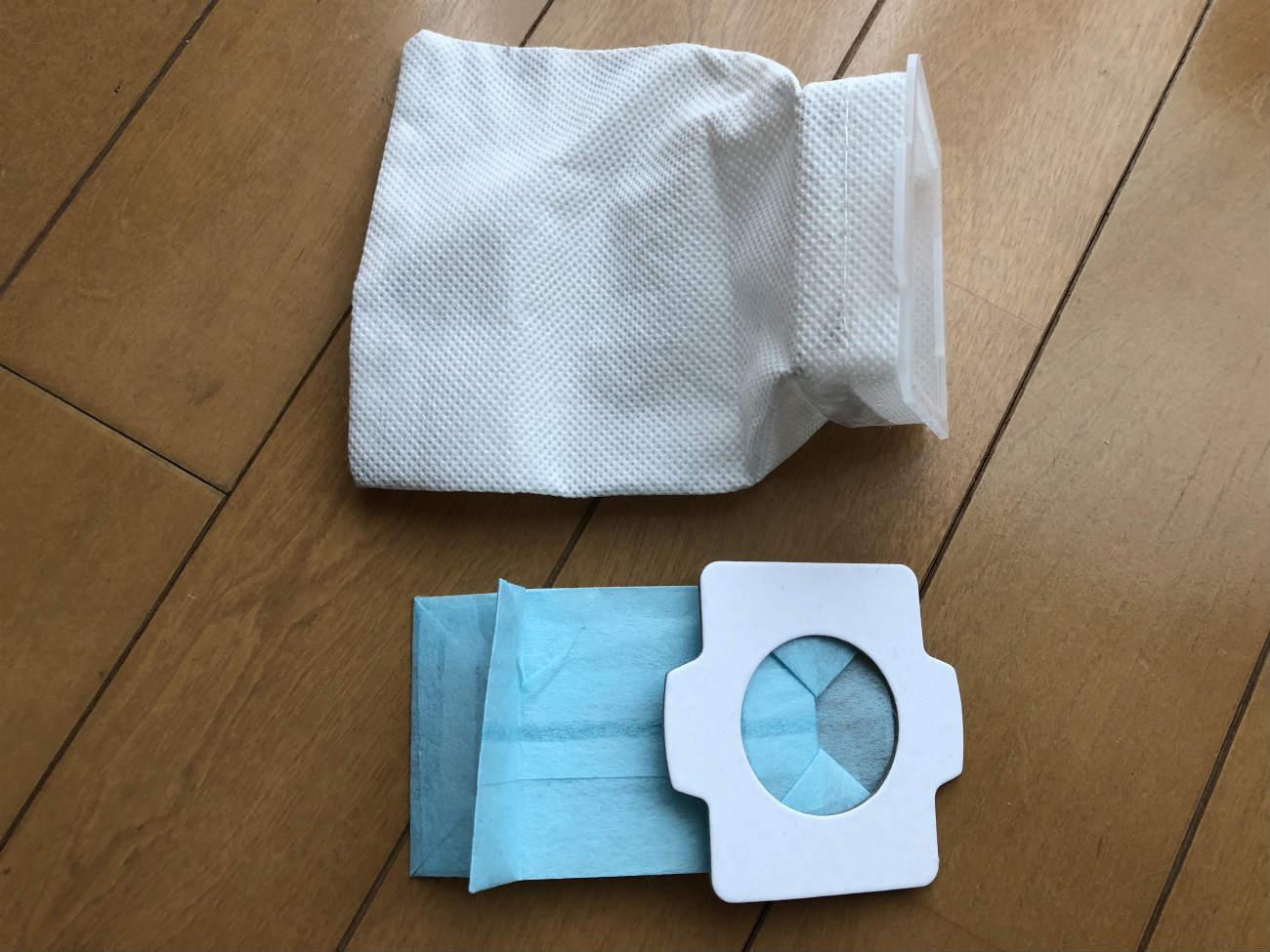 マキタの掃除機の紙パックとダストパック